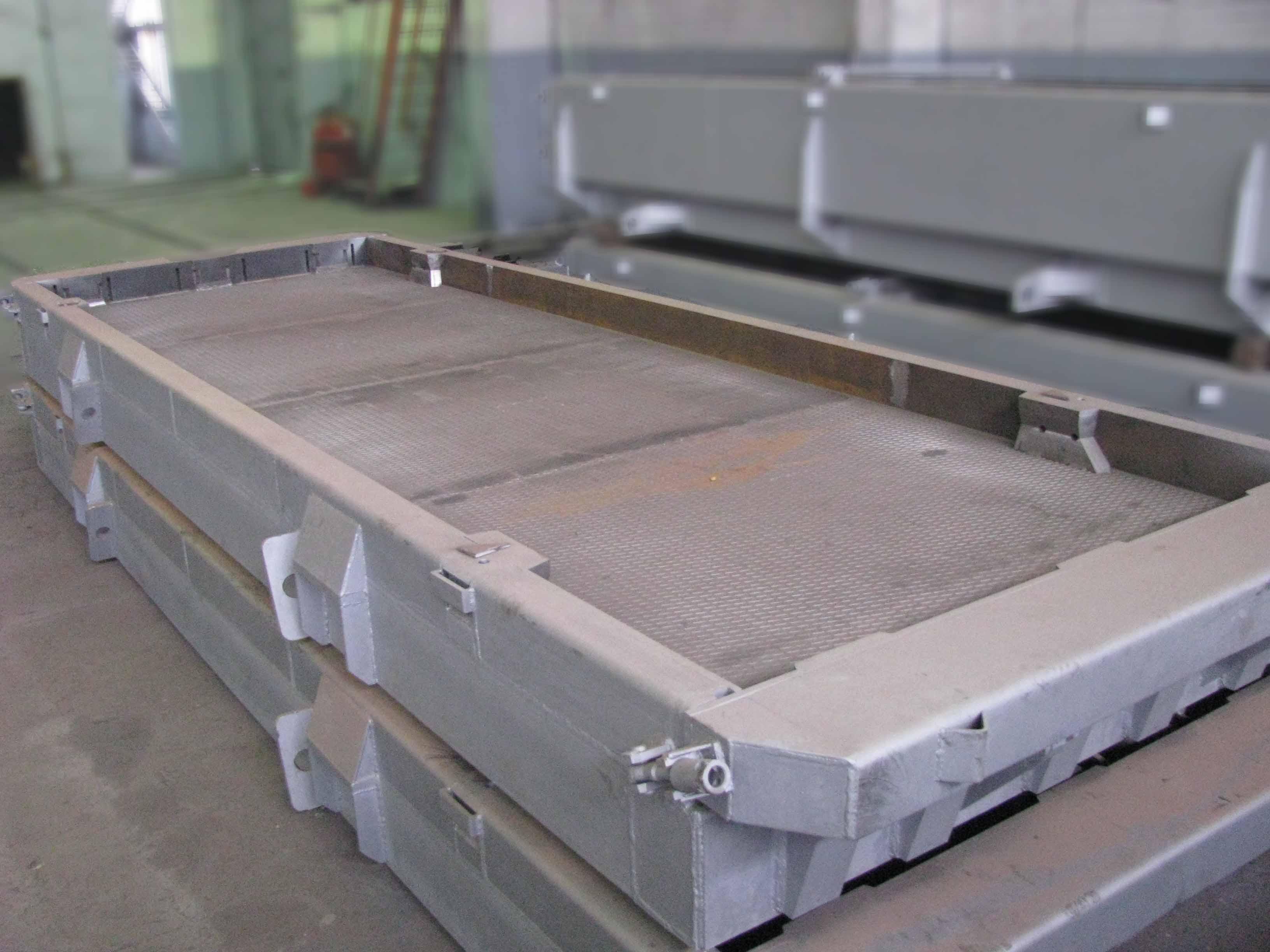 Изготовление железобетонных плит